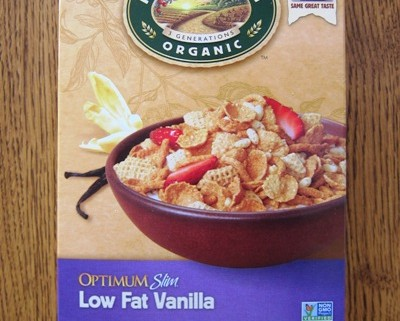 optimum slim low fat vanilla cereal by nature's path