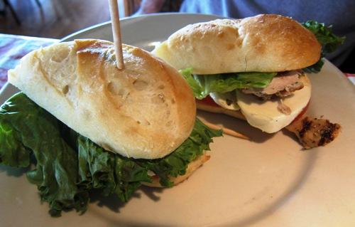 gino's east sandwich
