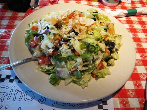 gino's east chopped salad