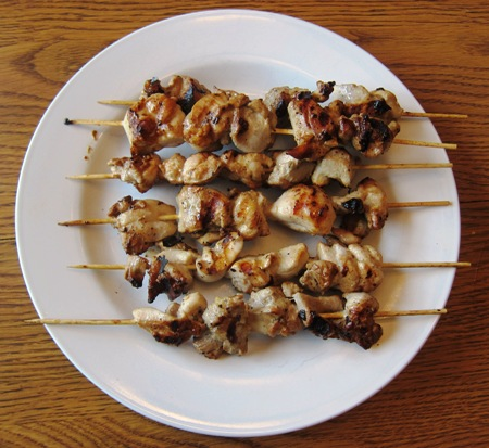 How To Make Grilled Honey Lemon Chicken Shish Kabobs