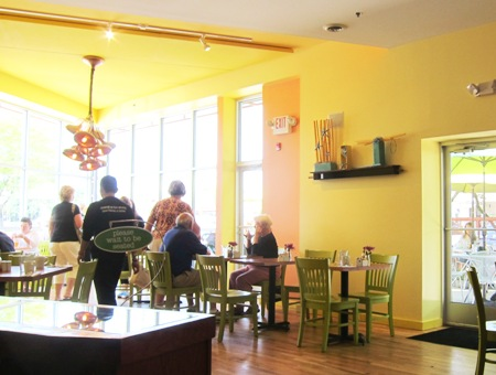 simple cafe inside