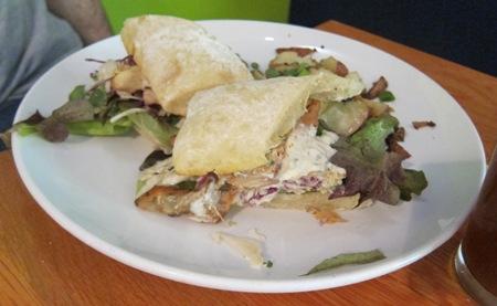 simple cafe lake geneva tandoori chicken sandwich