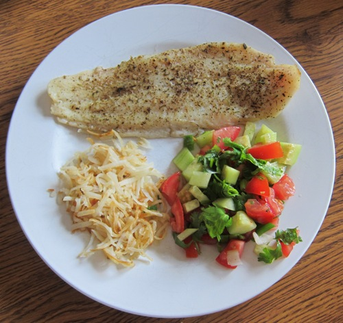how to make baked lemon fish