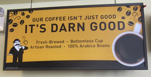 einstein bagels free coffee refills