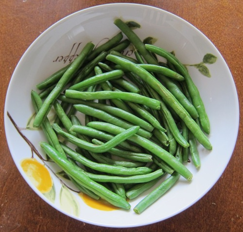 how to make steamed green beans recipe
