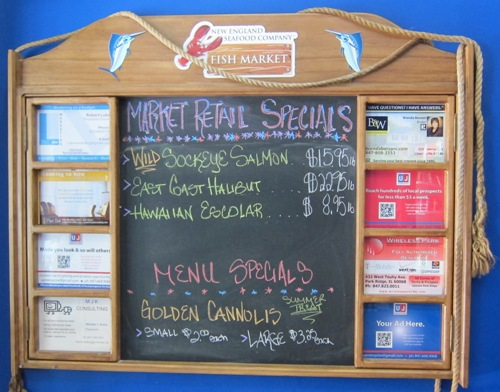 new england seafood company specials