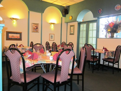 Tong's Hunan Northbrook interior