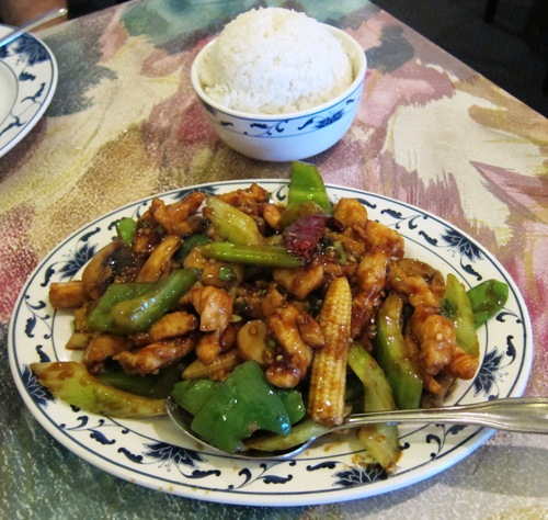 chinese garlic chiken