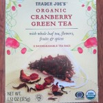 trader joe's organic cranberry green tea