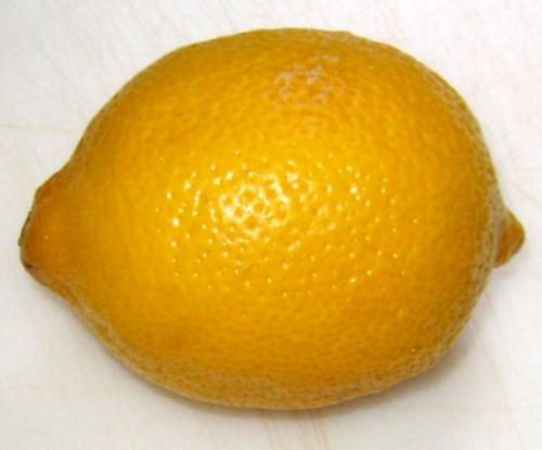 how to juice a lemon - whole lemon
