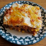 Mexican Vegetarian Lasagna Recipe