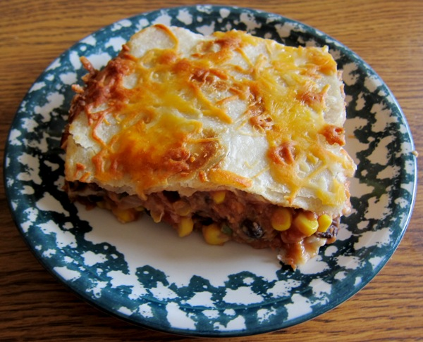 how to make mexican vegetarian lasagna recipe