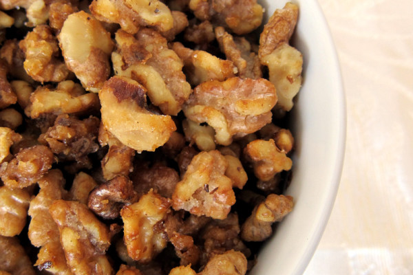 how to make candied walnuts with brown sugar