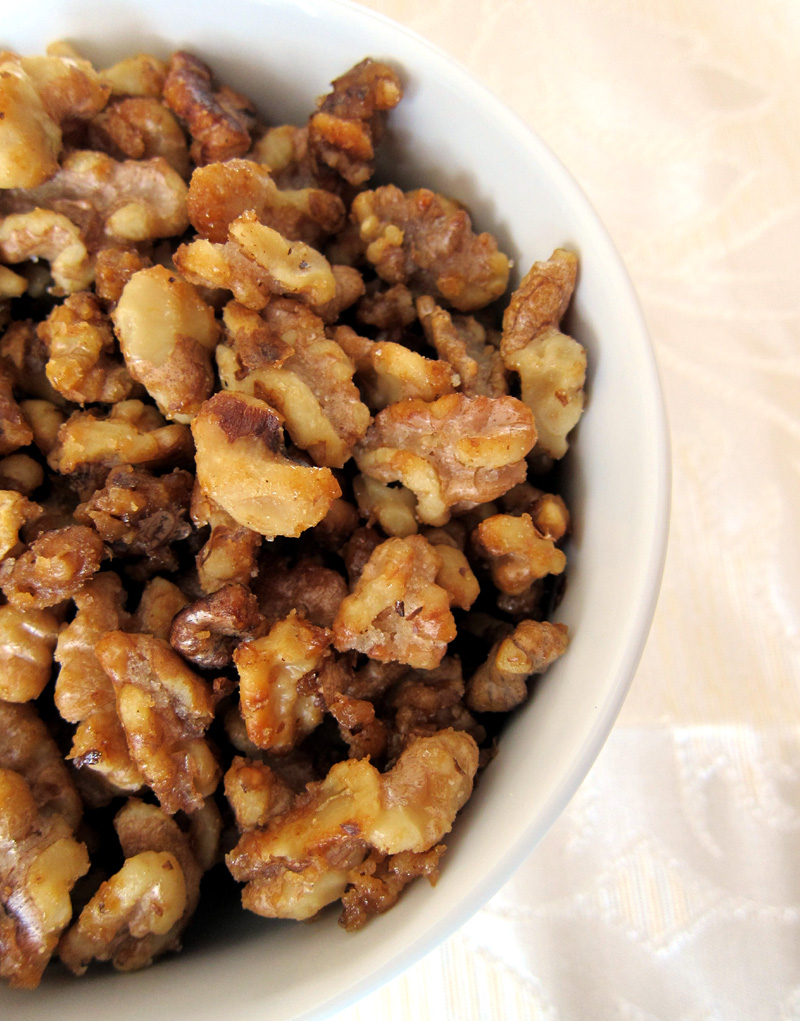 Candied Walnuts Recipe — Dishmaps