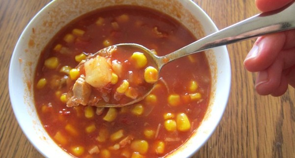 How To Make Chicken Corn Tomato Soup