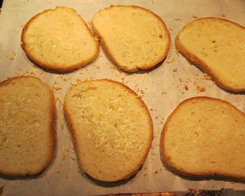 Garlic Parmesan Toast Recipe