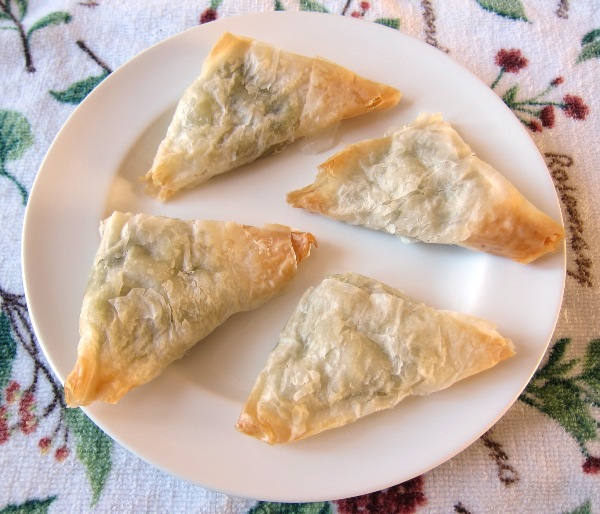 spanakopita fillo spinach frozen appetizers from costco