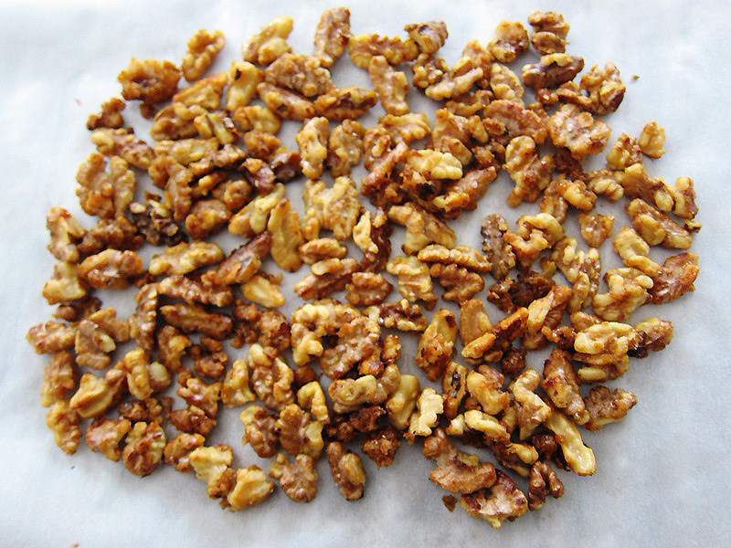 Candied Walnuts Recipe With Brown Sugar | Melanie Cooks