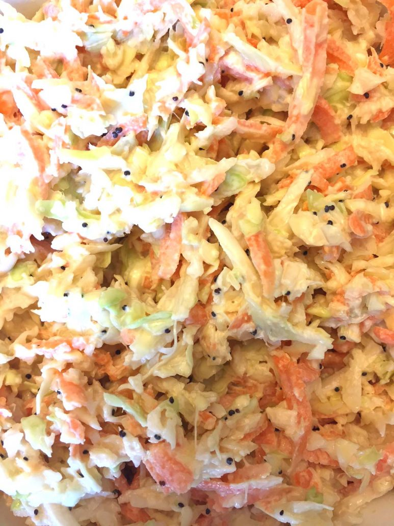 Easy Coleslaw Recipe