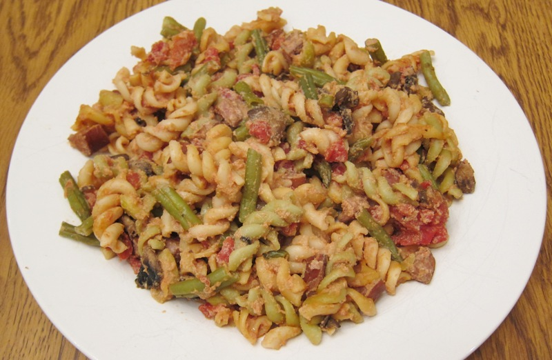 Shell Pasta With Sausage And Greens Recipes — Dishmaps