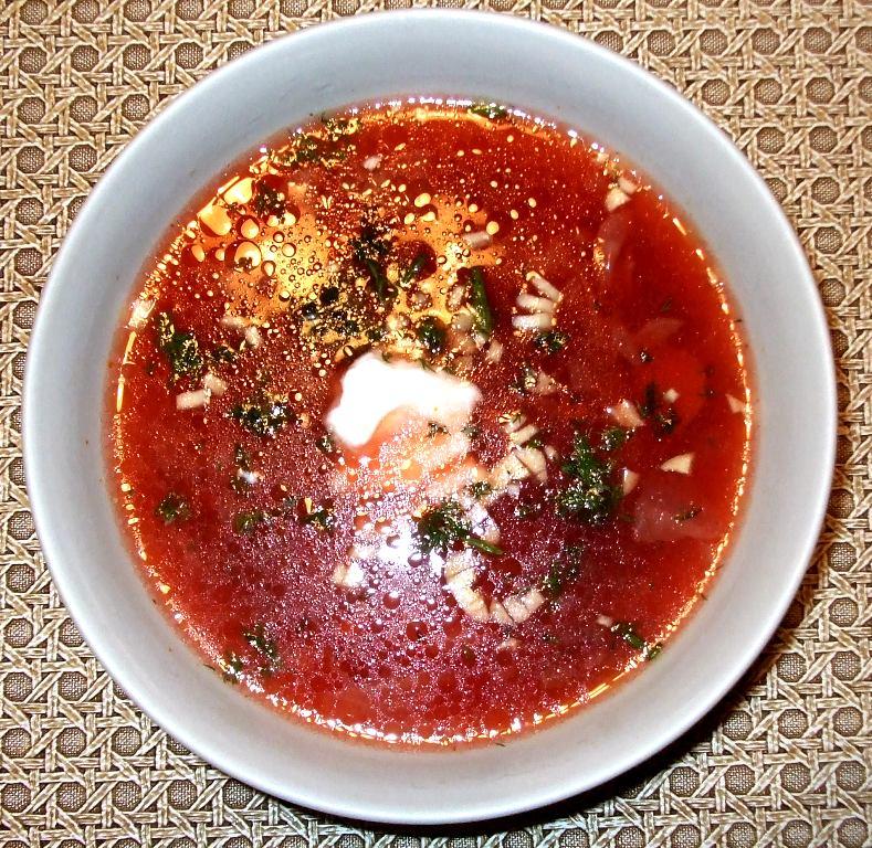 Russian Borscht Beet Soup Recipe Melanie Cooks