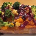 Healthy Stuffed Sweet Potatoes Recipe