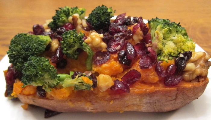 Vegan Stuffed Sweet Potato Recipe
