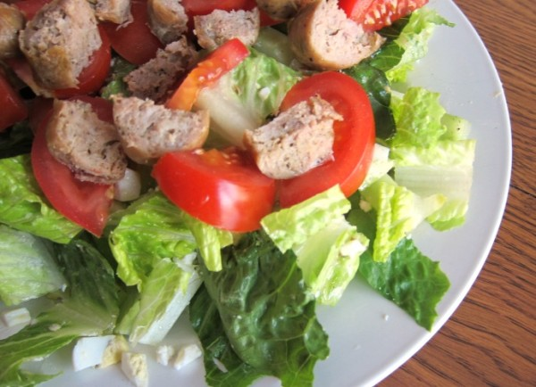 Chopped Salad Recipe With Sausage