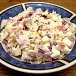 crab salad recipe - how to make crab salad