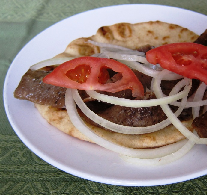 Homemade gyros recipe how to make greek gyro meat at home homemade greek gyros recipe forumfinder Gallery
