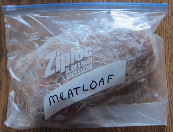how to freeze meatloaf