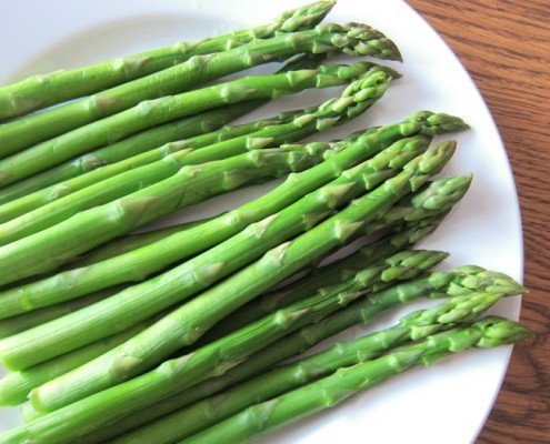 how long to cook asparagus in the microwave