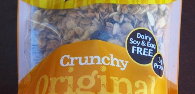 udi's gluten free organic granola with nuts