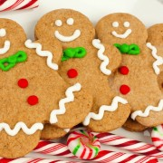 Gingerbread Men Cookies - Super Easy Recipe That Doesn't Require Molasses!