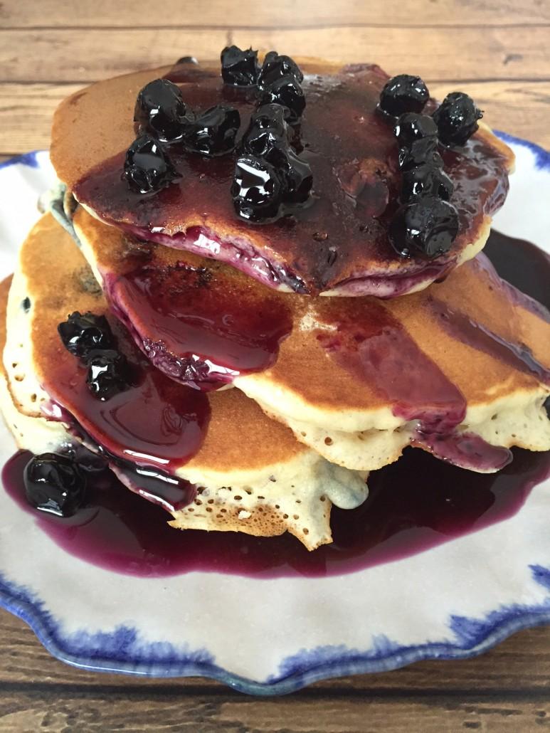Homemade Blueberry Pancake Syrup Recipe