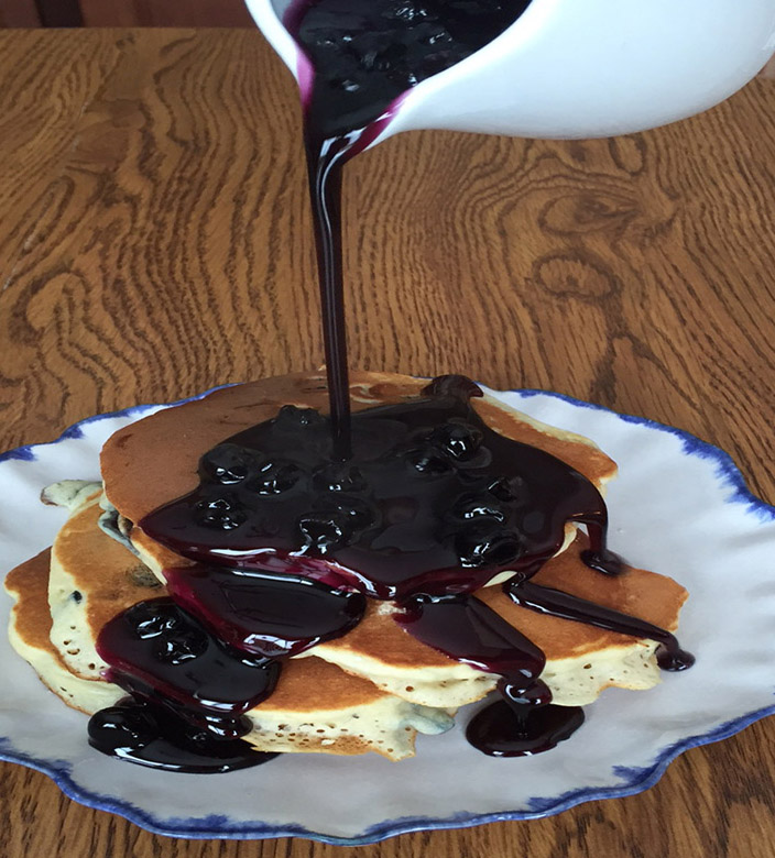 Homemade Blueberry Syrup Recipe For Pancakes
