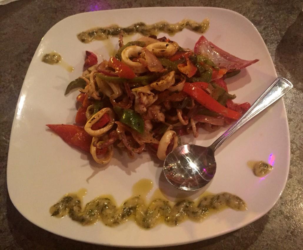 Cohiba Cuban Cuisine Restaurant - Calamari Appetizer