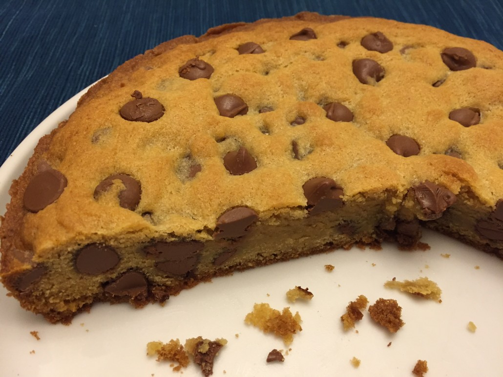 Best Easy Chocolate Chip Cookie Cake Recipe