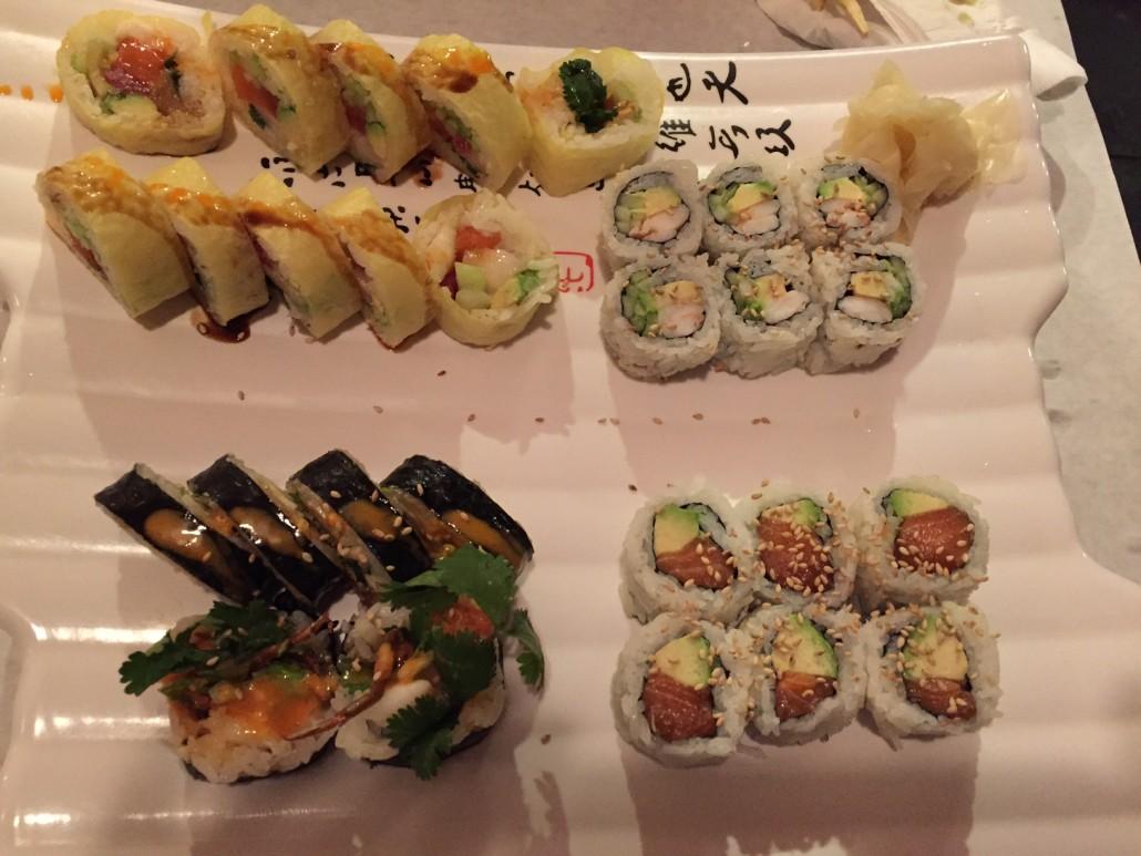 Hakuya Sushi restaurant, Buffalo Grove, Chicago Suburbs