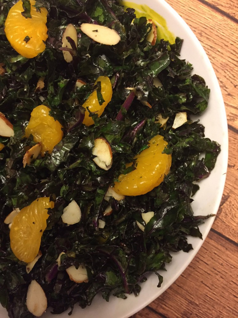 How To Make Red Kale Salad