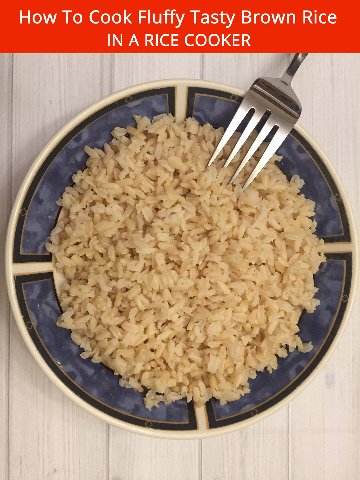 How To Cook Fluffy Tasty Brown Rice In A Rice Cooker ...