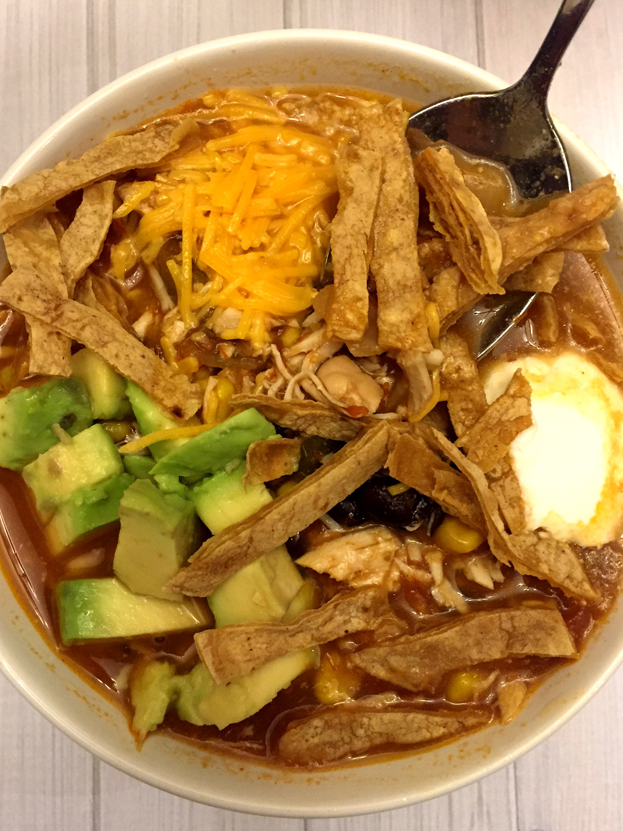 Easy Mexican Chicken Tortilla Soup Crock Pot 5 Ingredient Recipe Melanie Cooks