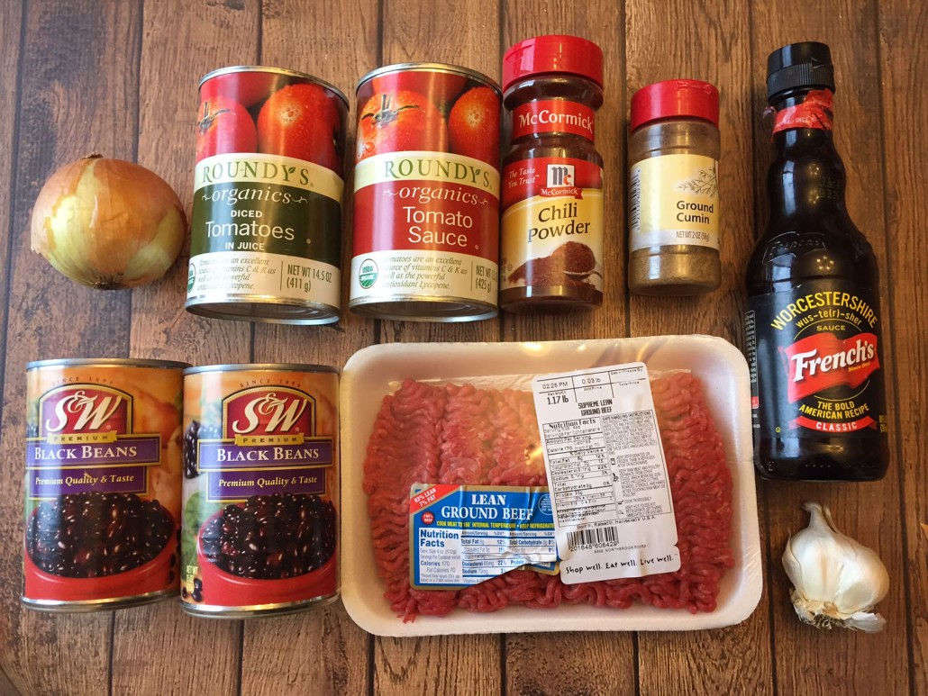 Ingredients For Slow Cooker Beef Chili Recipe