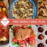 free meal plan week 2 menu