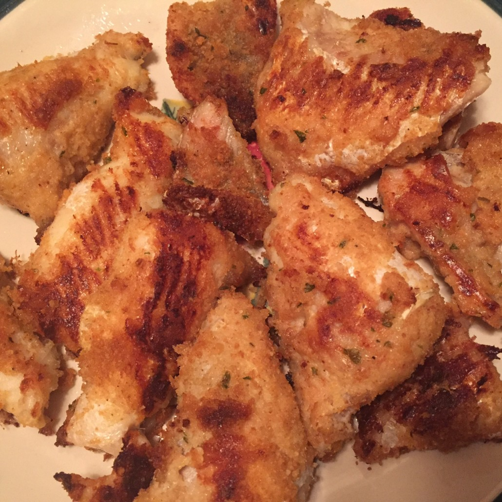 Crispy oven baked breaded fish recipe no frying needed for How to bread fish