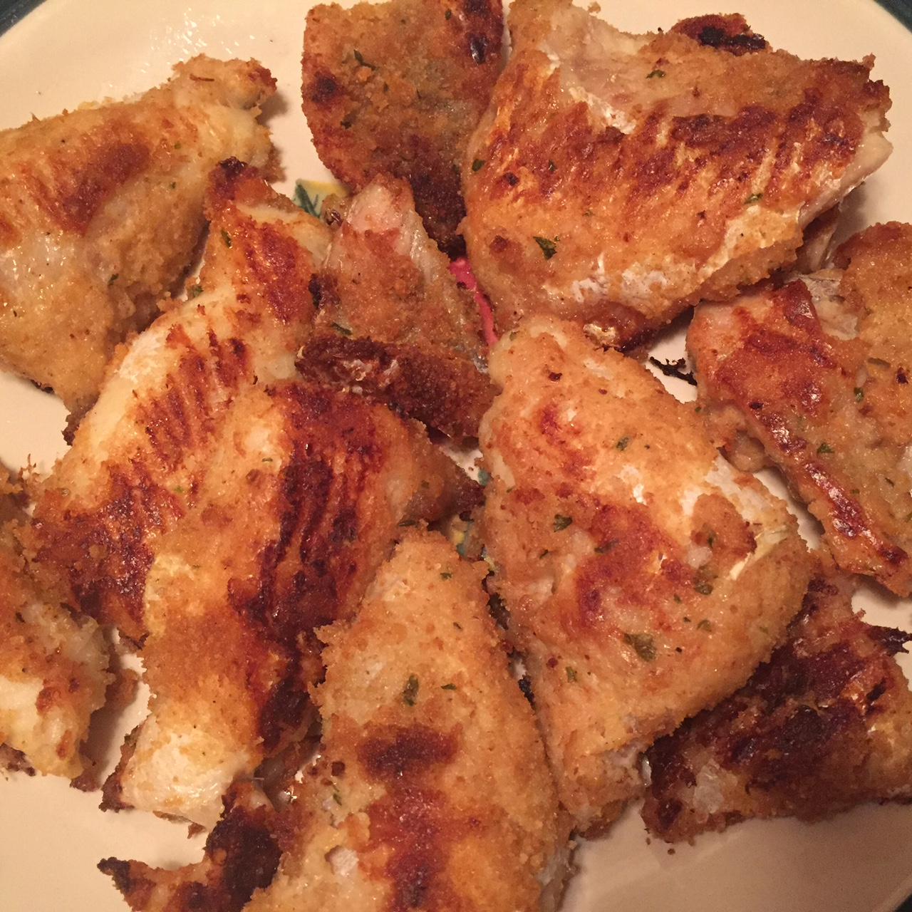 Crispy oven baked breaded fish recipe no frying needed for How to make breaded fish