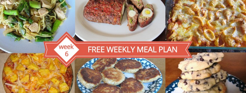 Free Weekly Meal Plan - Week 6