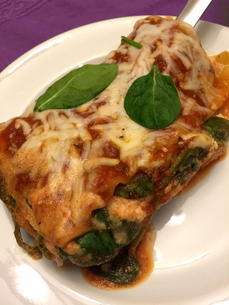 How To Make Easy Spinach Lasagna