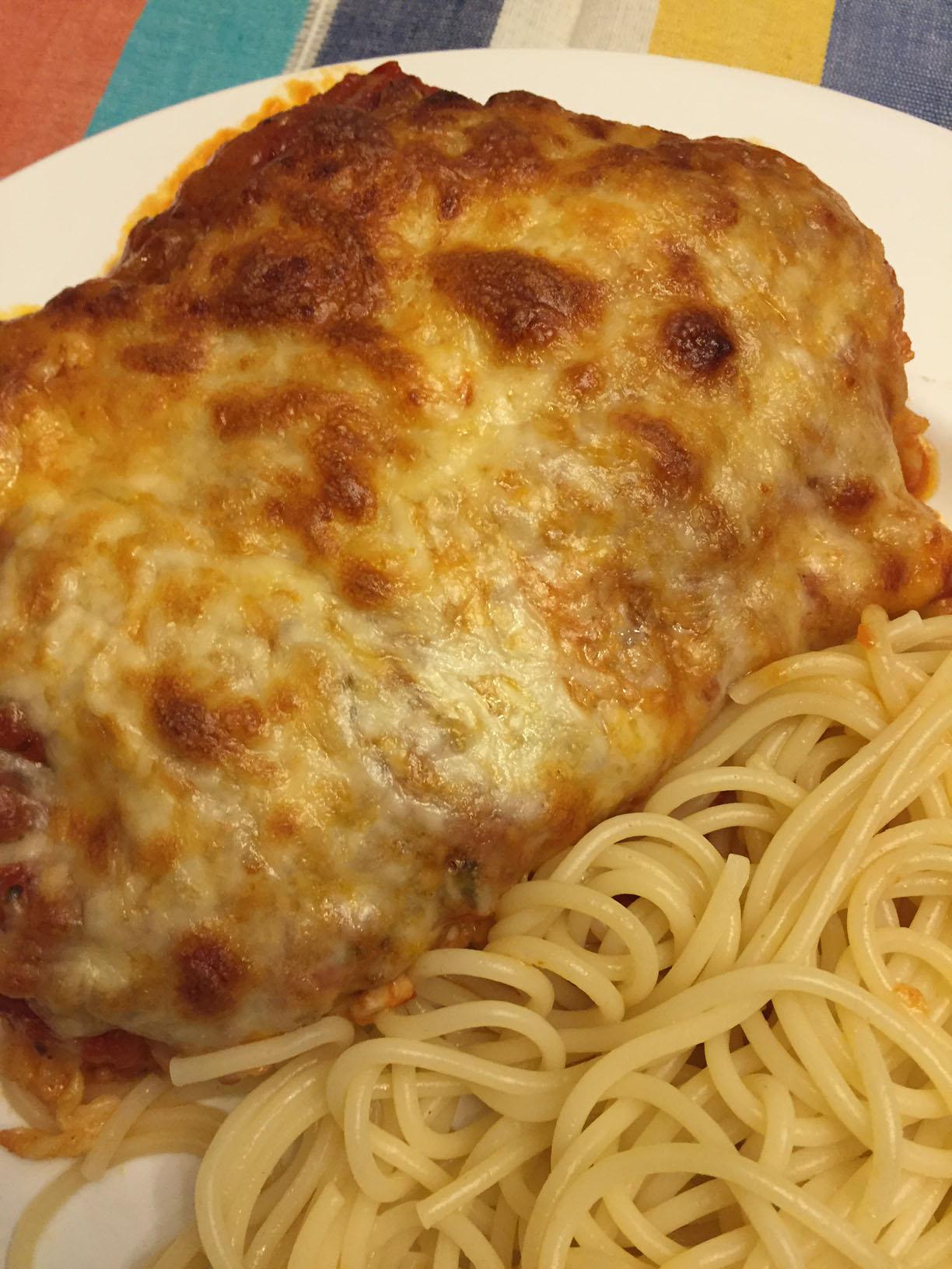 Easy Italian Chicken Parmesan Parmigiana Recipe