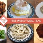 FREE Meal Plan Week 10